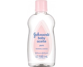 Aceite Johnson`S Baby Original Humecta Y Suaviza X 100 Ml